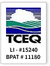 Texas Commission on Environmental Quality License Number